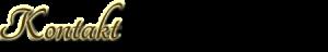 Schrift_Kontakt
